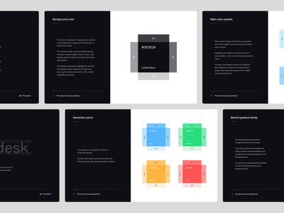 Flowdesk style guide brand guide style guide fintech logo fintech branding fintech branding studio banking brand finance cryptocurrency crypto brand fintech fintech brand blockchain volatility branding agency smart by design brand strategy brand identity brand studio aiste brand designer smart logos