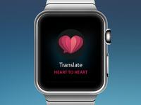 Heart To Heart Apple Watch App
