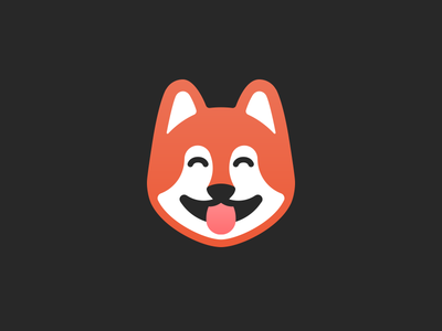 Shiba Inu puppy icon minimal logo logo designer tieatie aiste brand mark icon puppy dog shiba inu