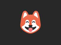 Shiba Inu puppy icon