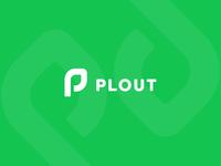 PLOUT logo design