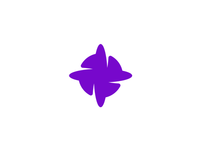 Orbit [ICON] planet design tieatie branding studio cosmos brand mark negative space orbit logo designer aiste purple icon minimal branding