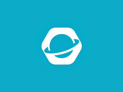 ORBIT [ICON 2] orbit logo rebrand branding comet space aero crm management logo design o planet icon system negative space