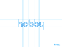 Hobby Typeface [GRID]