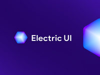 Electric Ui logo proposal