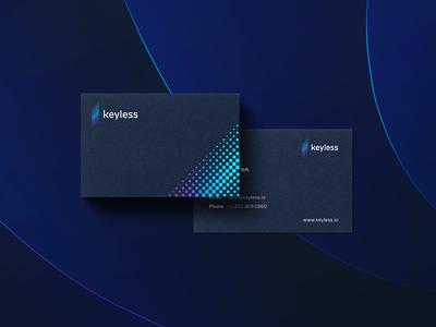 Keyless - business cards