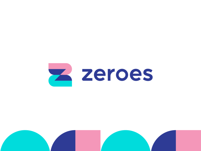 ZEROES - smart banking alternative brand architect aiste smart design smart by design z letter startup branding agency minimal logo mark icon branding logo money management money transfer money app money transfers transfer banking app
