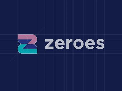 ZEROES - logo grid