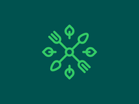 Grassroots icon [Grid animation] logo aiste branding agency smart by design brand architect logo design logo mark organic organic food food icon brand design branding startup branding grid layout grid logo animation grid startup grassroots