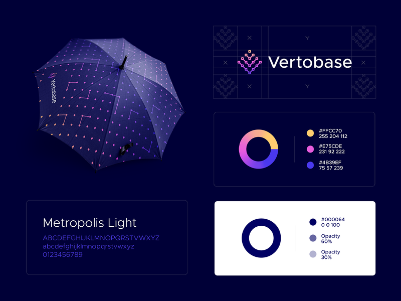 Vertobase Brand Overview logo mark logo guide guidebook brand guideline logo design branding and identity branding concept branding agency branding design wallet app finance pattern crypto currency fintech crypto exchange cryptocurrency crypto wallet vertobase crypto exchange smart by design aiste