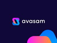 avasam - logo design