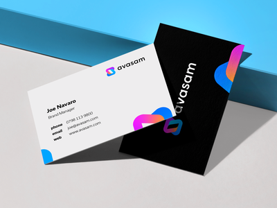 avasam - business cards