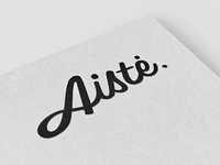 Aiste logo concept #1