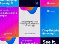 Drop-shipping platform branding