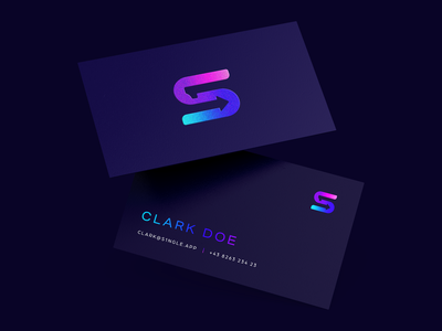 S1NGLE - business cards