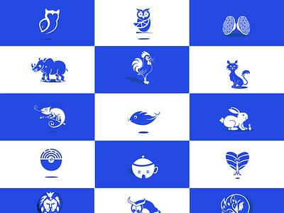 Icon Challenge logo branding illustrator design illustration