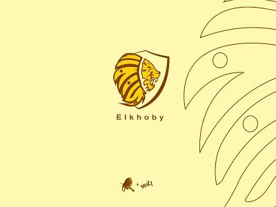 Elkhoby logo identity printing font illustrator logo typography branding vector calligraphy logo illustration design