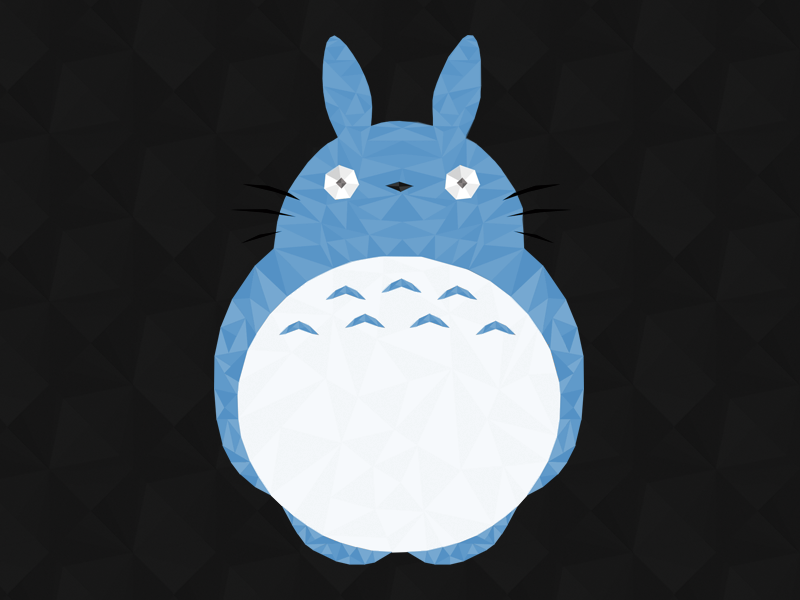 My Neighbor Totoro totoro studio ghibli miyazaki illustration hayao character