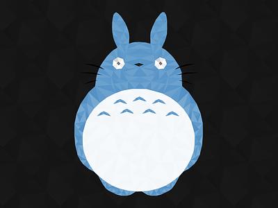 Totoro totoro studio ghibli miyazaki illustration hayao character