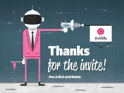 Hello Moon! debut thank you dribbble first shot invitation moon space