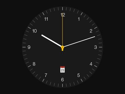 Braun BN0032 Black Edition braun clock watch time