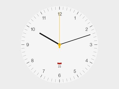 Braun BN0032 White Edition braun clock watch time