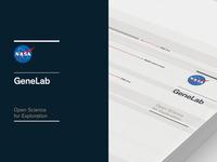 Nasa GeneLab Brand System