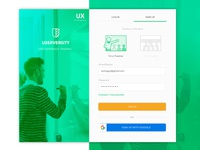 Sign Up Daily UI 001