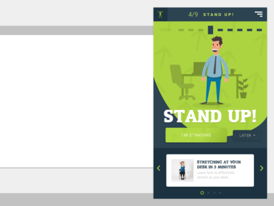Stand up Desktop App