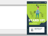 Stand up Desktop App