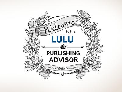 Lulu Publishing Advisor design development illustration javascript css