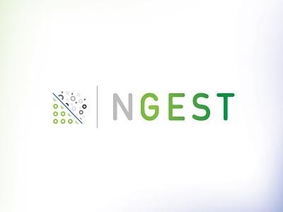 Ngest Logo logo illustration design