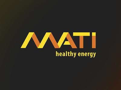Mati Logo logos illustration design