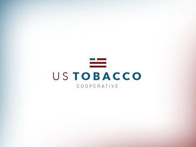 US Tobacco Logo illustration design logo