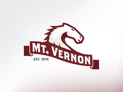 Mt Vernon illustration branding design