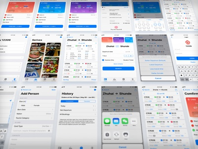 12306 App Revamp 12306 revamp sketch app ios