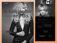 Blowdry Bar Services page