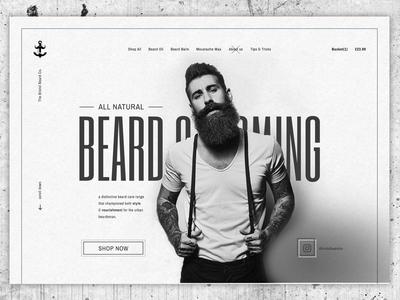 Beard Grooming Concept