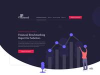 Charnwood Solicitors design responsive vector illustration ui design clean web design website ui