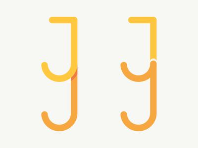 Personal Logo - JY flat logo personal