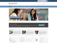 Responsive website template for education 1