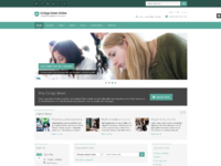Responsive website template for education 2