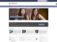 Responsive website template for education 3