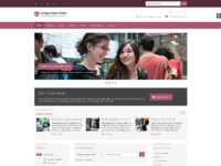 Responsive website template for education 4