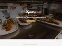 Epicure responsive website template for restaurants