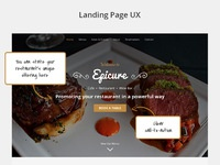Epicure promo with ux notes