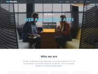 Devstudio responsive website template for web design   development agencies