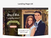 Matrimony promo with ux notes