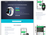 Onboard - Landing Page for Crowdfunding Campaigns