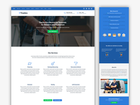 Trades - Bootstrap Template for Builders and Tradesmen